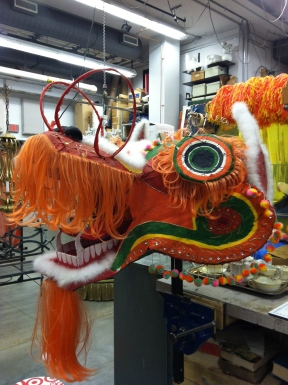 Prop room dragon