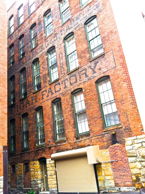 Kuhles and Stock Cigar Factory -- alley between East Fourth and Fifth and Wacouta and Wall