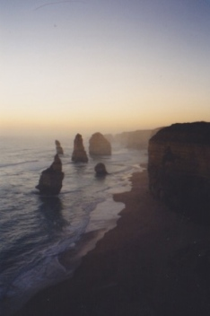 Dusk on the Great Ocean Road -- Twelve Apostles