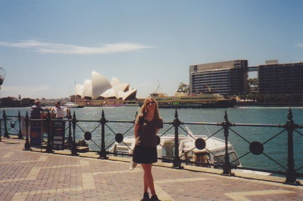 Circular Quay, Sydney Harbour (when I was so very young)