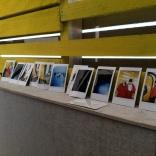 Mantel of Polaroids