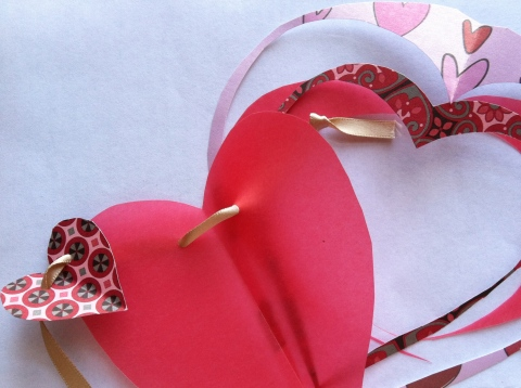 Hearts and scraps