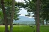 Amherst view of the Berkshires